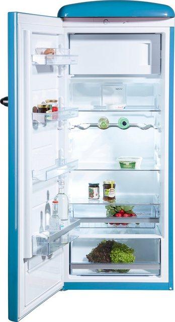 GORENJE Kühlschrank ORB153BL-L, 154 cm hoch, 60 cm breit, 154 cm hoch, 60 cm breit