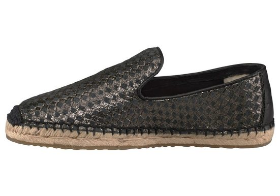 UGG Sandrinne Metallic Basket Slipper