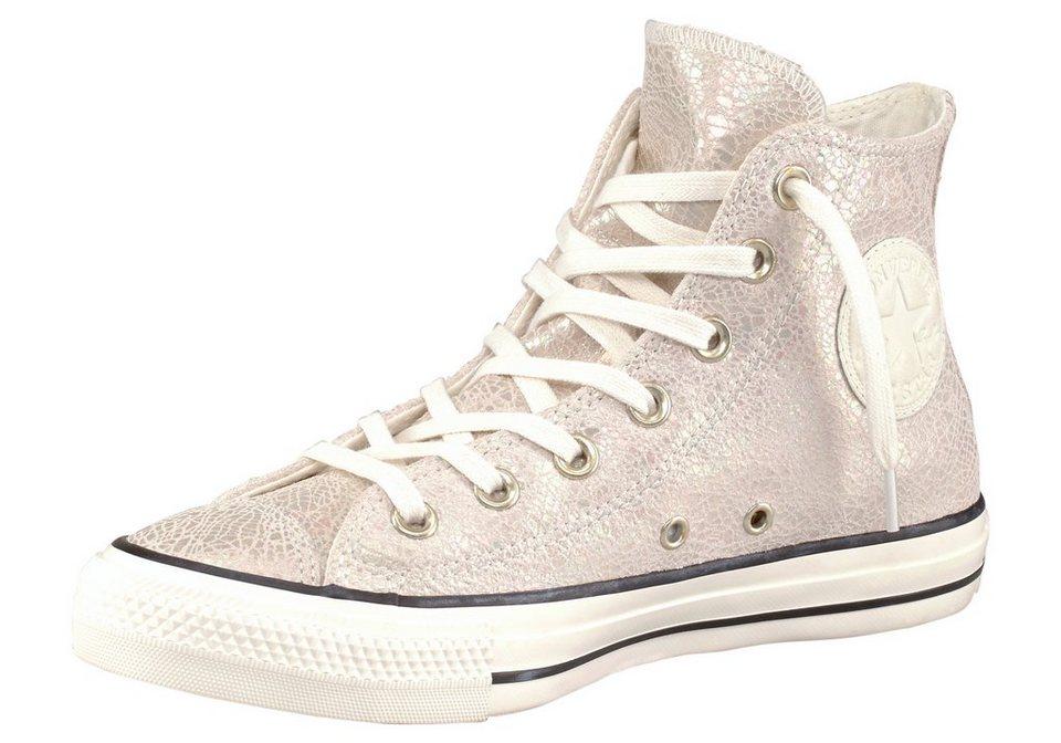 Converse CTAS Oil Slick Leather Sneaker in Ecru