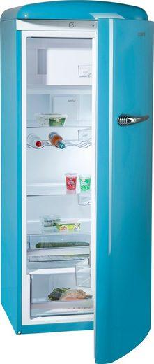 GORENJE Kühlschrank ORB153BL, 154 cm hoch, 60 cm breit, 154 cm hoch, 60 cm breit