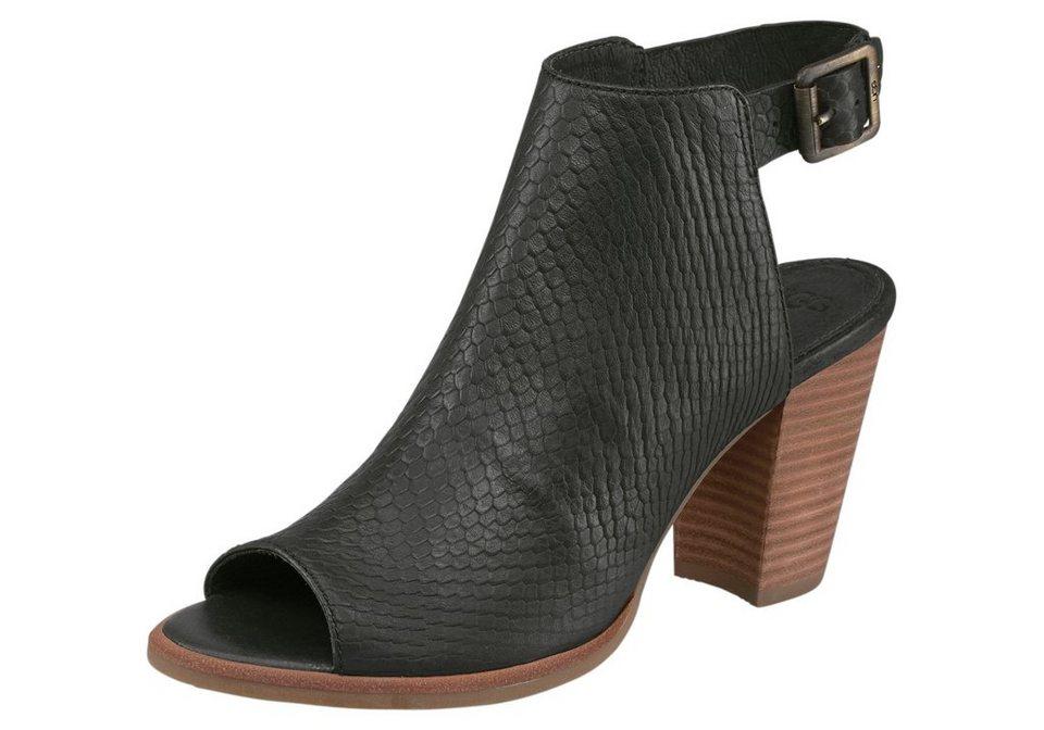 UGG »Audrey Snake« Sandalette in schwarz
