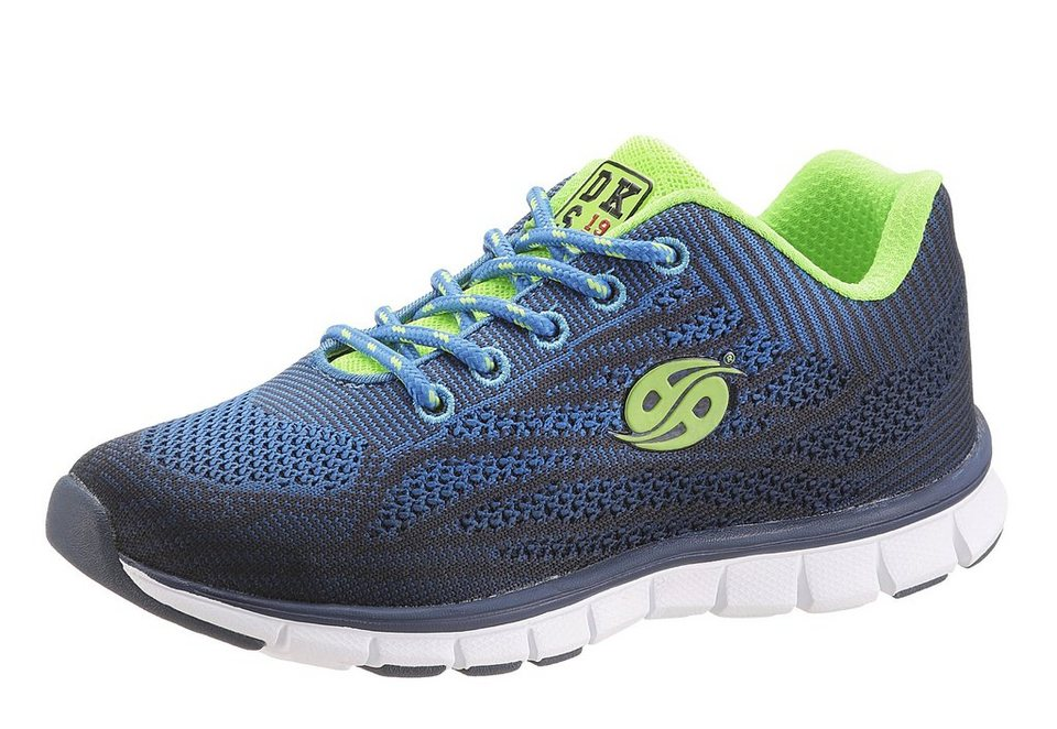 Dockers Sneaker mit herausnehmbarer Sohle in blau-grün