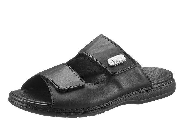 Rieker Pantolette mit zwei praktischen Klettverschlüssen | Schuhe > Clogs & Pantoletten | Rieker