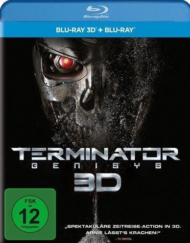 Blu-ray »Terminator: Genisys (Blu-ray 3D, + Blu-ray 2D)«