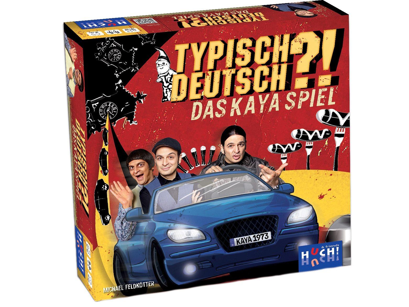 Huch! & friends Familienspiel, »Typisch Deutsch - Das Kaya-Yanar-Spiel«