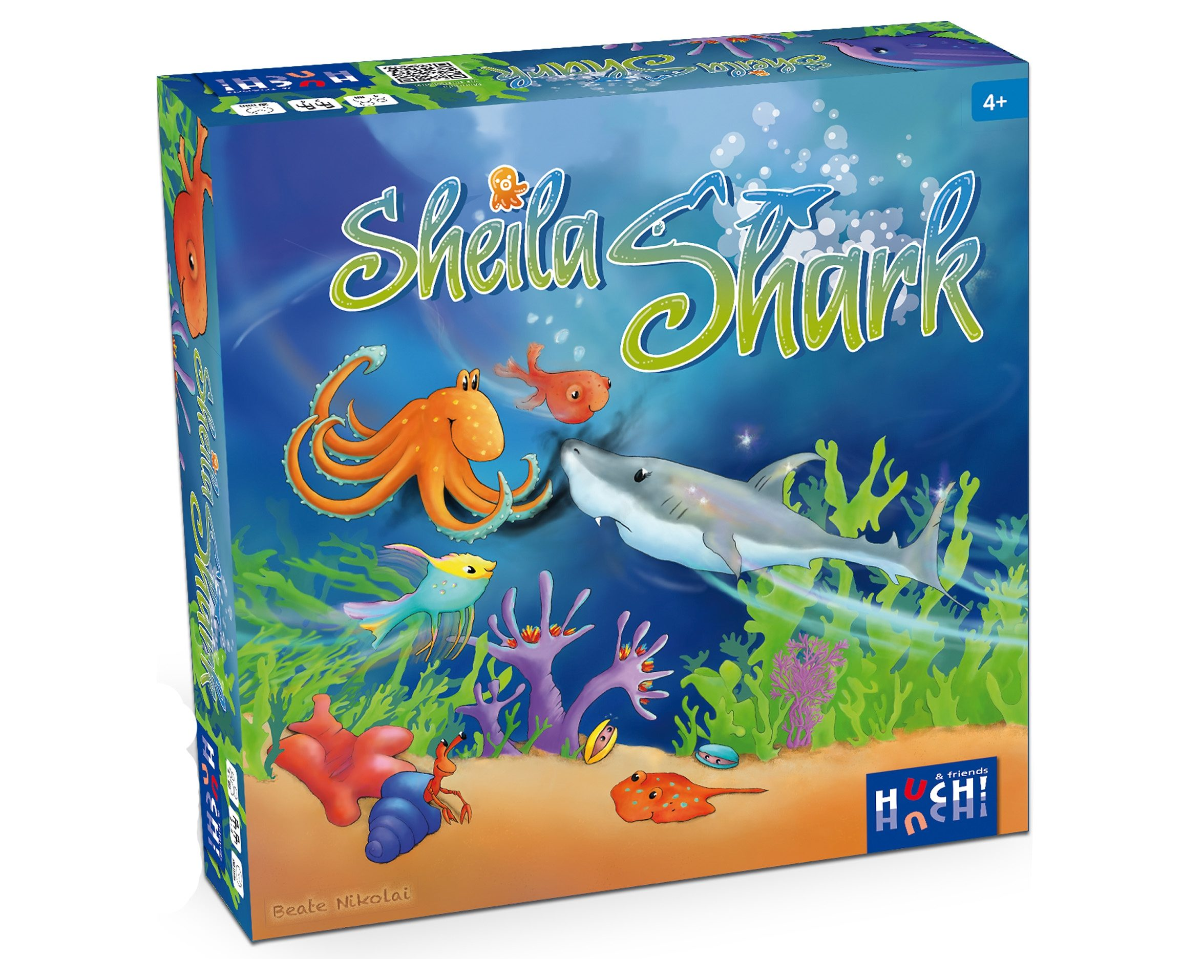 Huch! & friends Kinderspiel, »Sheila Shark«