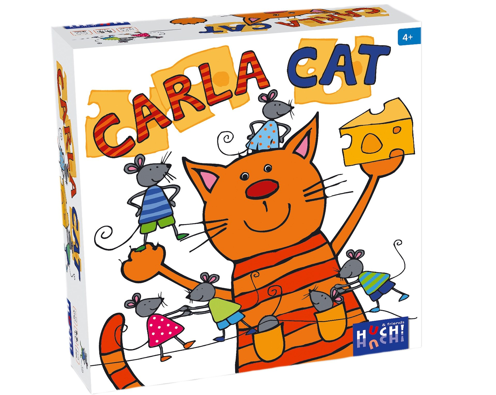 Huch! & friends Kinderspiel, »Carla Cat«