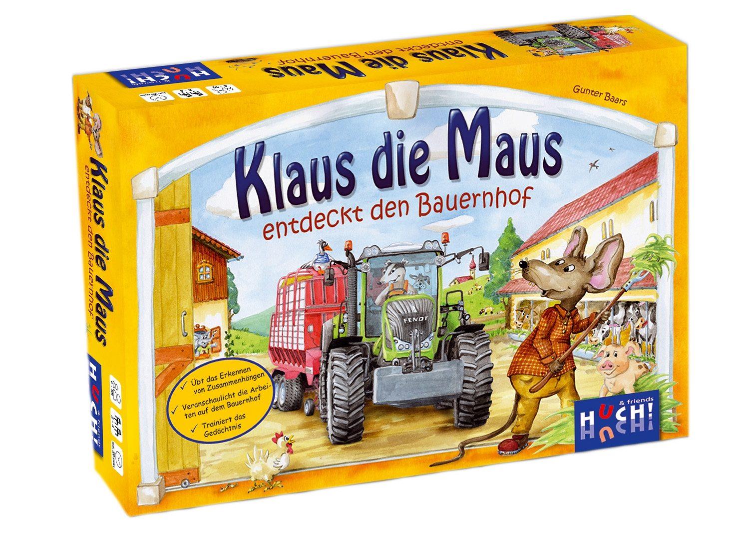 Huch! & friends Kinderspiel, »Klaus die Maus entdeckt den Bauernhof«