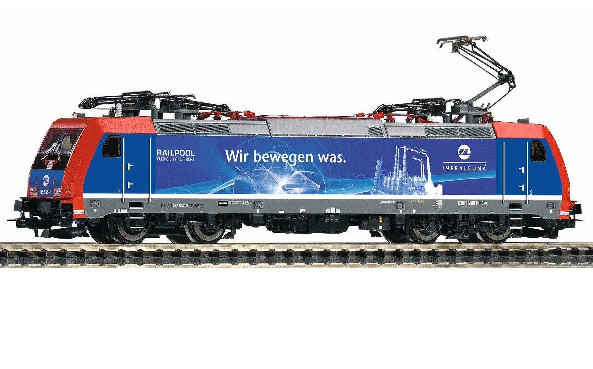 PIKO Elektrolok, »E-Lok BR 482 Infraleuna - Wechselstrom« Spur H0
