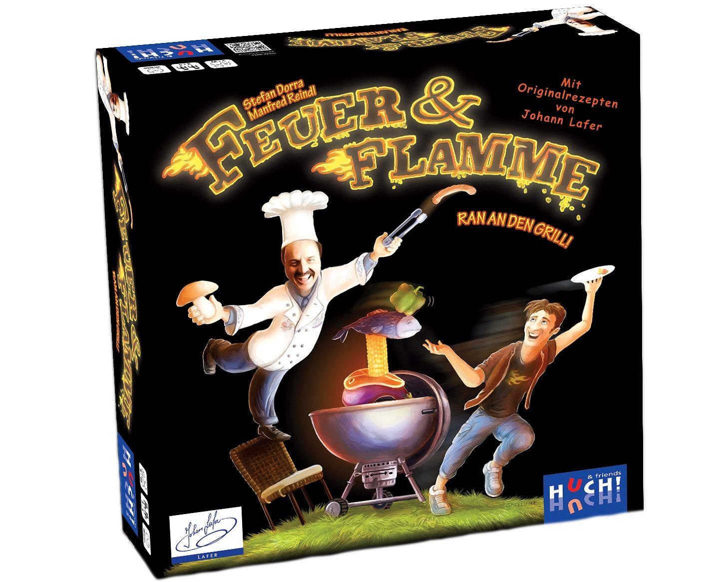 Huch! & friends Familienspiel, »Feuer + Flamme«