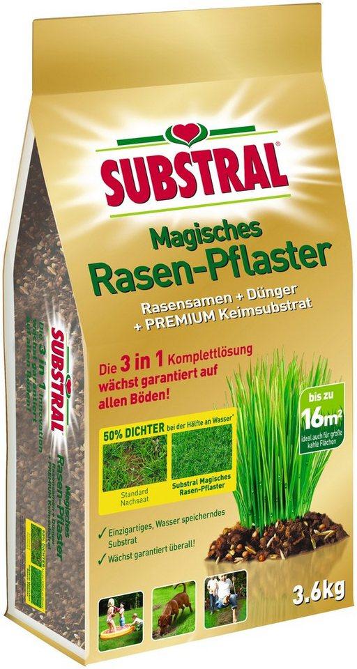Rasenpflege »Magisches Rasen-Pflaster« in bunt