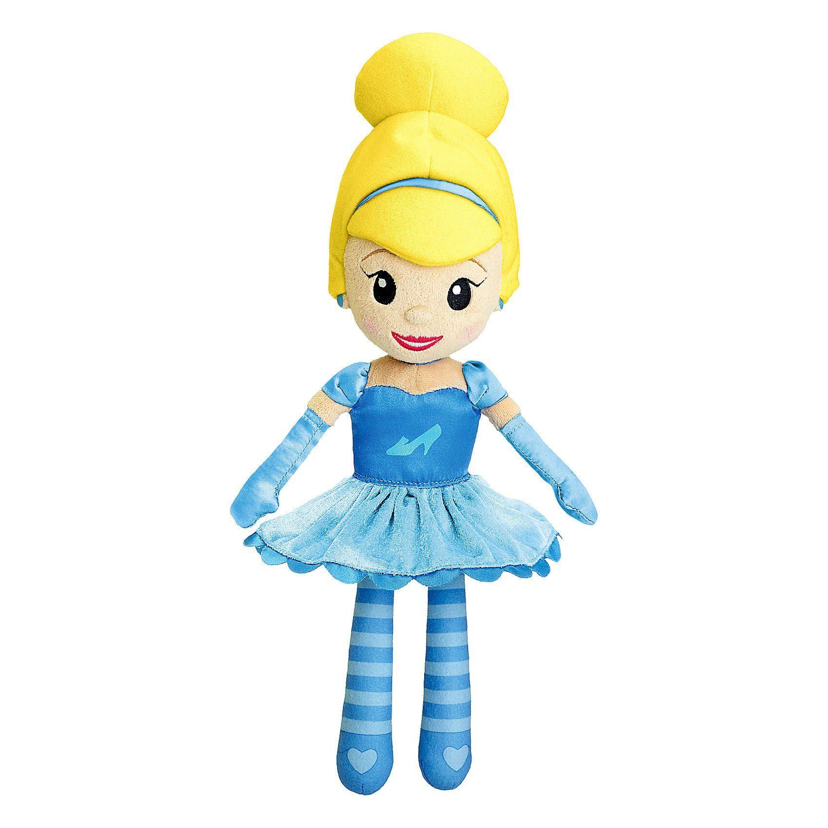 CHICCO Disney Princess Stoffpuppe Cinderella