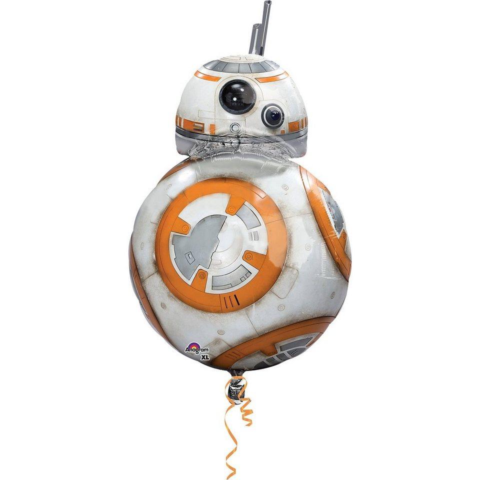 Amscan Folienballon SuperShape Star Wars the Force Awakens BB8