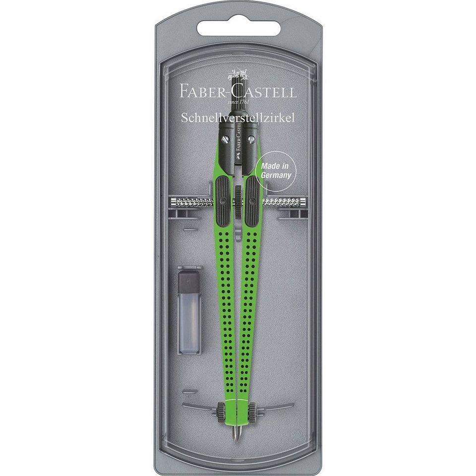 Faber-Castell GRIP Zirkel, grün in grün