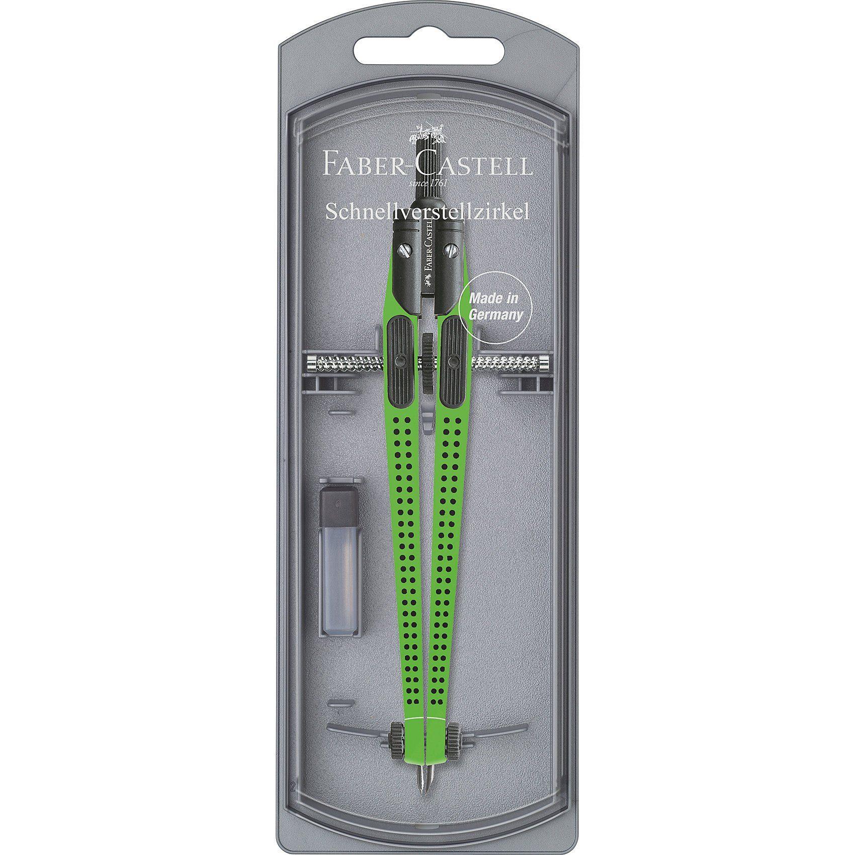 Faber-Castell GRIP Zirkel, grün