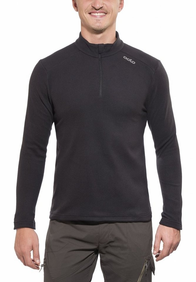 Odlo Pullover »Orsino Midlayer 1/2 ZIP Men« in schwarz