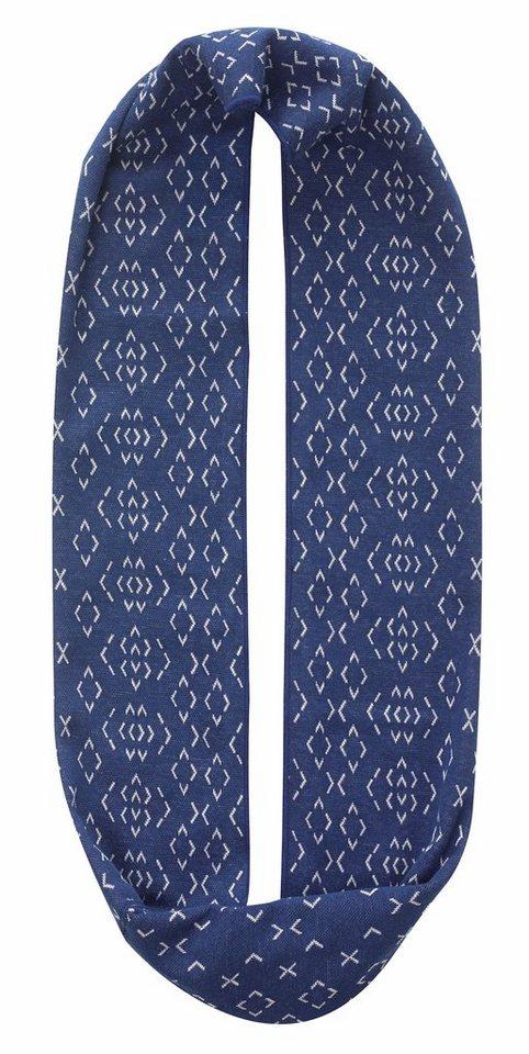 Buff Accessoire »Cotton Jacquard Infinity« in blau