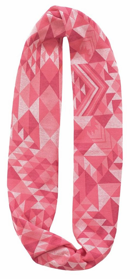 Buff Accessoire »Cotton Jacquard Infinity« in pink