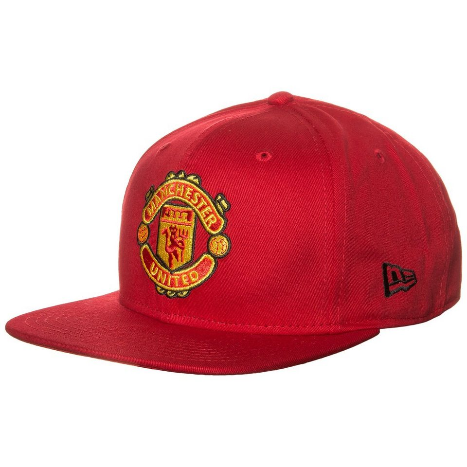 New Era 9FIFTY Manchester United Basic Snapback Cap in rot