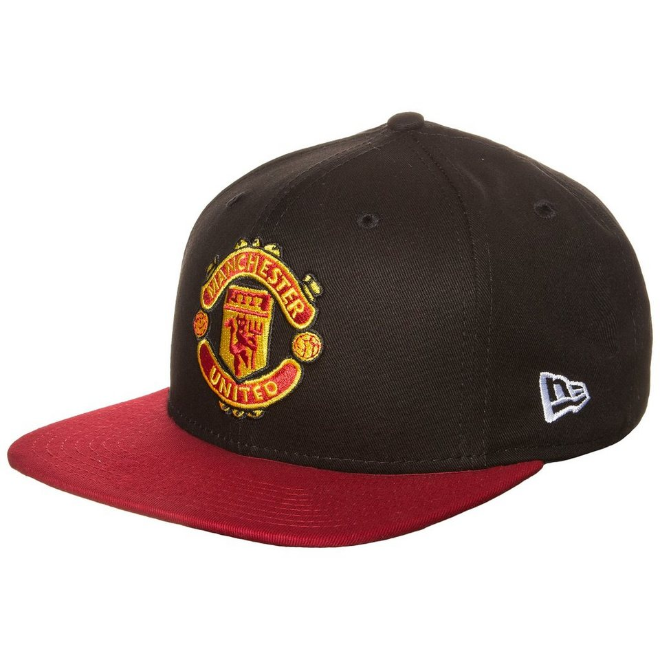 New Era 9FIFTY Manchester United Player Snapback Cap in schwarz / rot
