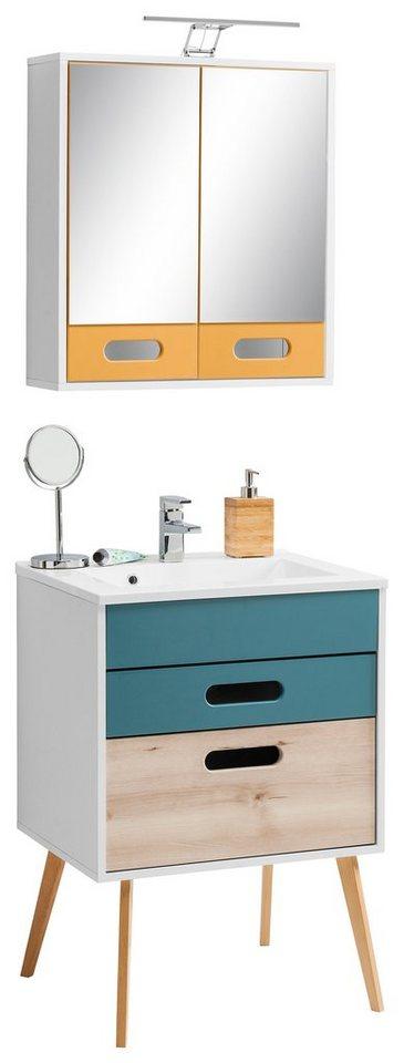 held m bel badm bel set g teborg 2 tlg kaufen otto. Black Bedroom Furniture Sets. Home Design Ideas