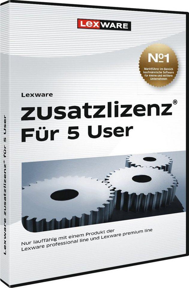 Lexware Finanzen/Steuer »zusatzlizenz 2016 fuer 5 User«