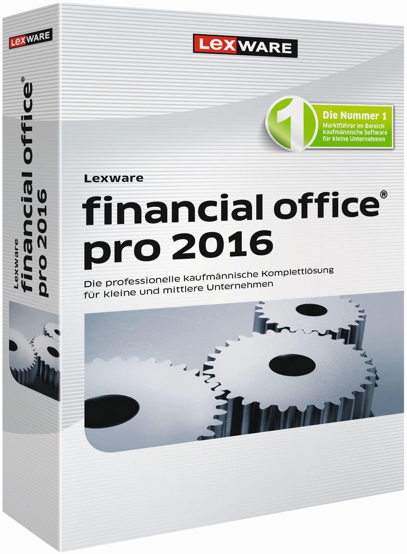 Lexware Kaufmännische Komplettlösung »financial office pro 2016«
