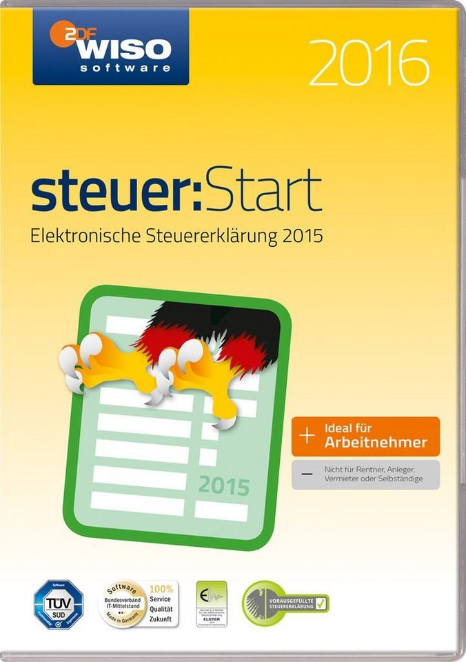 Buhl Data PC - Spiel »WISO Steuer-Start 2016«