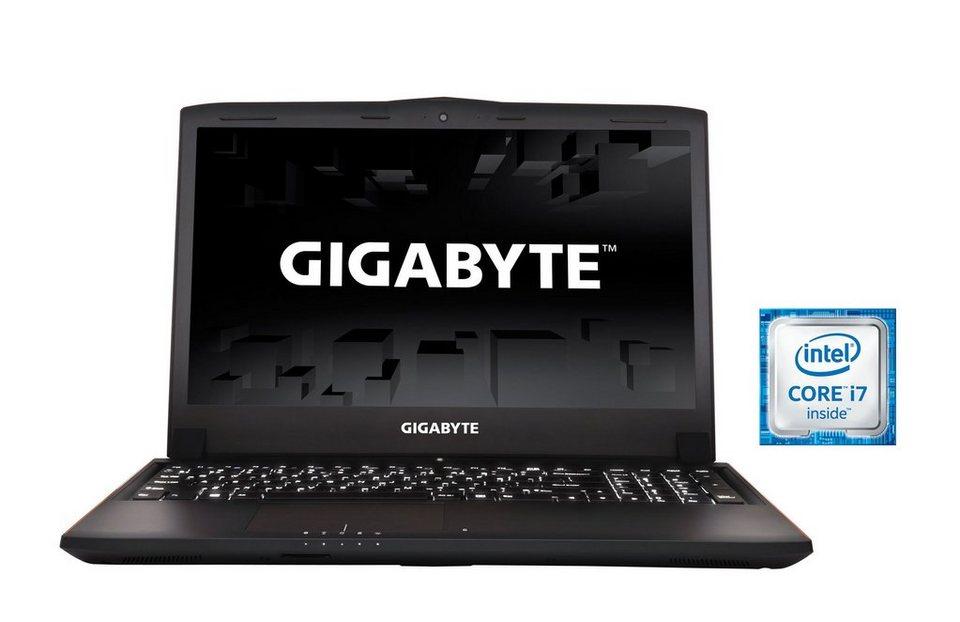 "GIGABYTE 15,6"", Intel® i7-6700HQ, 8GB, SSD + HDD, GeForce® GTX 970M »P55Wv5-CF4DE«"