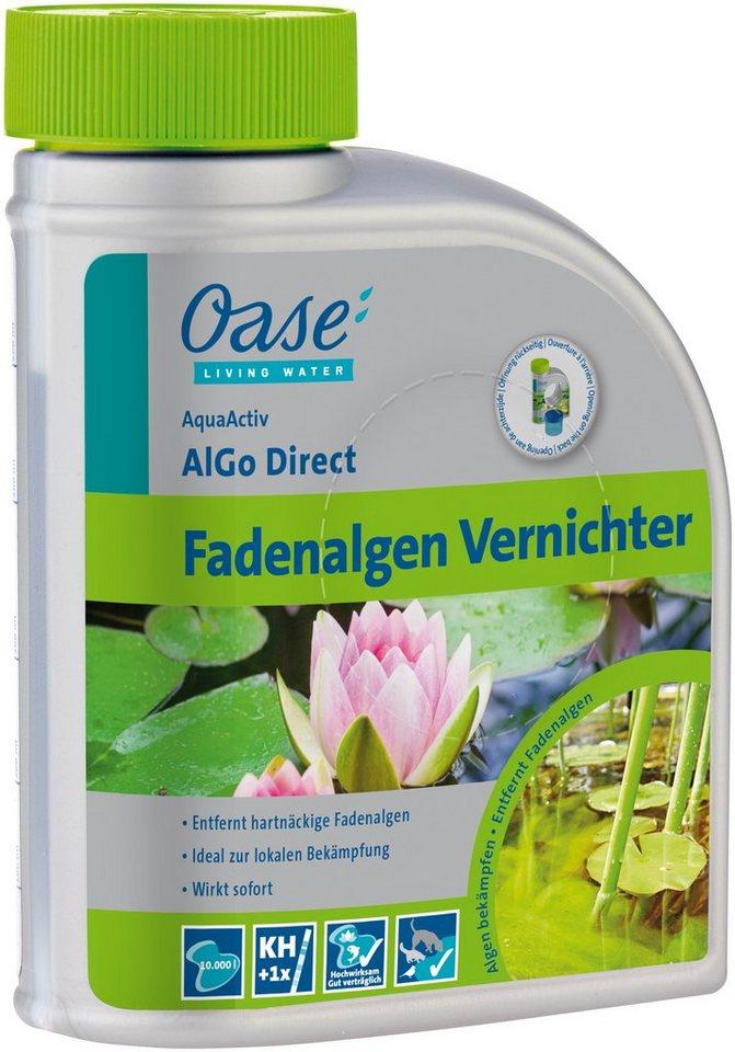 Algenbekämpfung »AquaActiv AlGo Direct 500 ml« in weiß