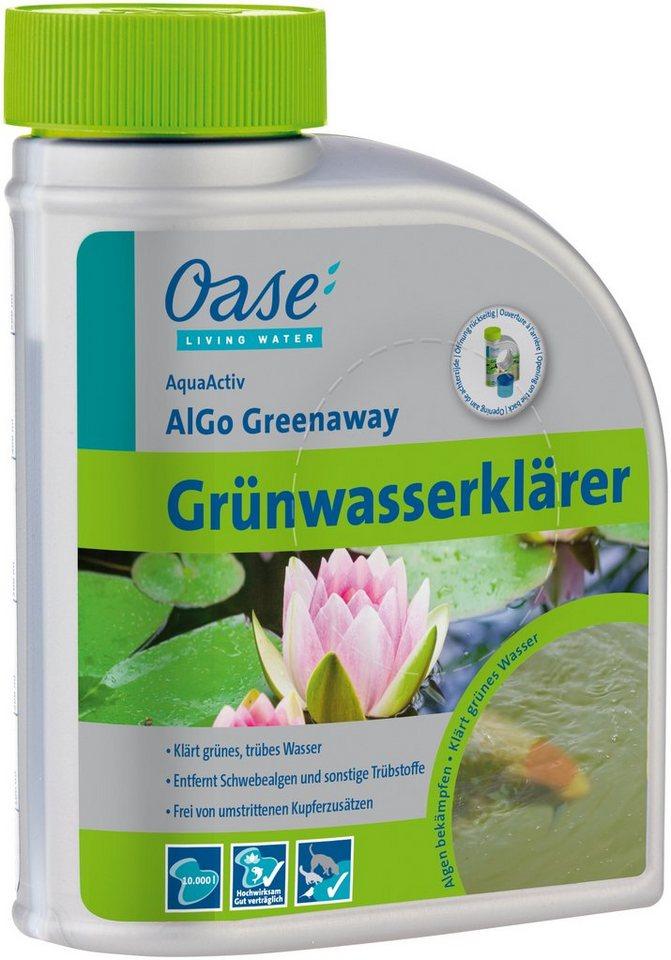 Algenbekämpfung »AquaActiv AlGo Greenaway 500 ml« in weiß