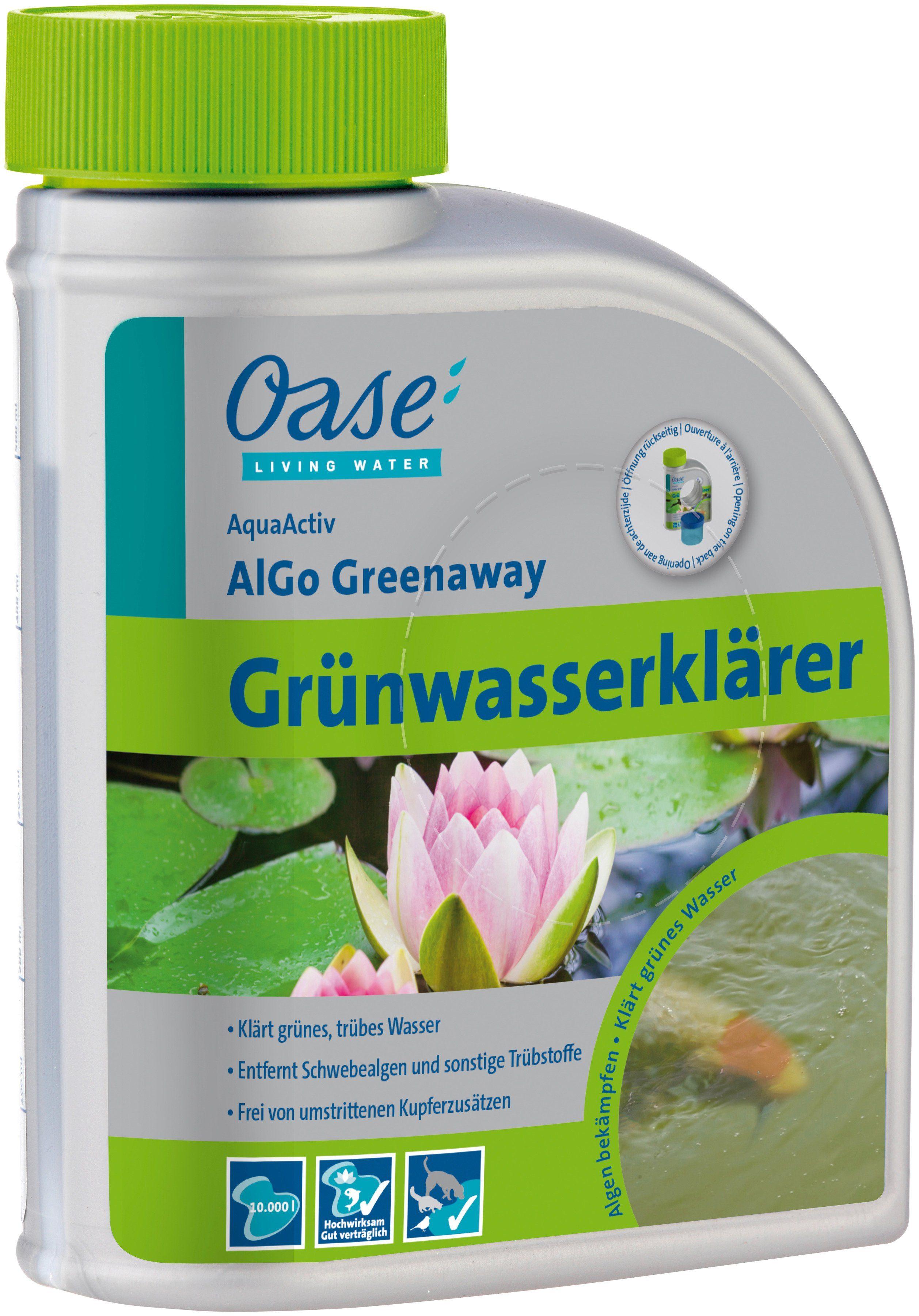 Algenbekämpfung »AquaActiv AlGo Greenaway 500 ml«