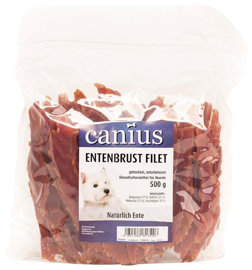Hundesnack »Entenbrustfilet«, 2 Beutel á 500 g in braun