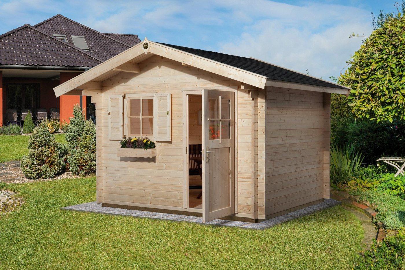 doppeltuer gartenhaus preisvergleiche. Black Bedroom Furniture Sets. Home Design Ideas