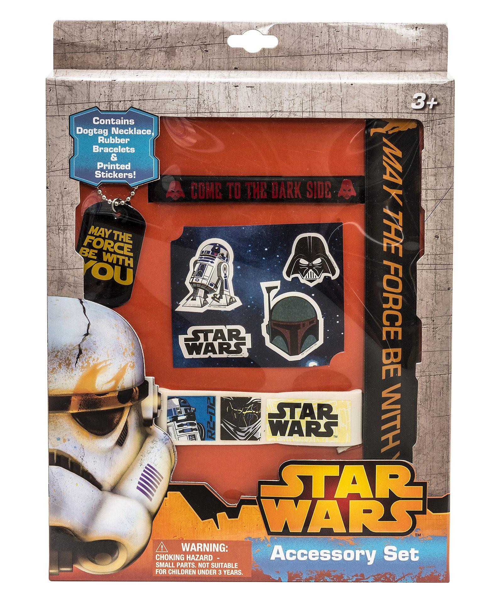 JOY TOY Set: Armbänder, Kette und Sticker, »Star Wars™ Fan Set« (5tlg.)