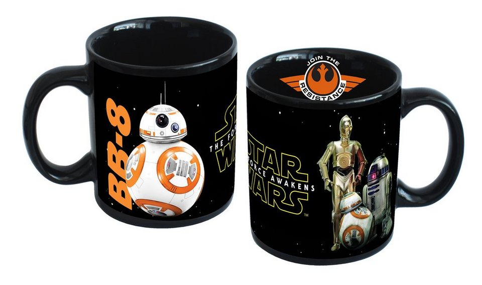 JOY TOY Tasse, 320 ml, »Disney Star Wars™ Droiden Keramiktasse«