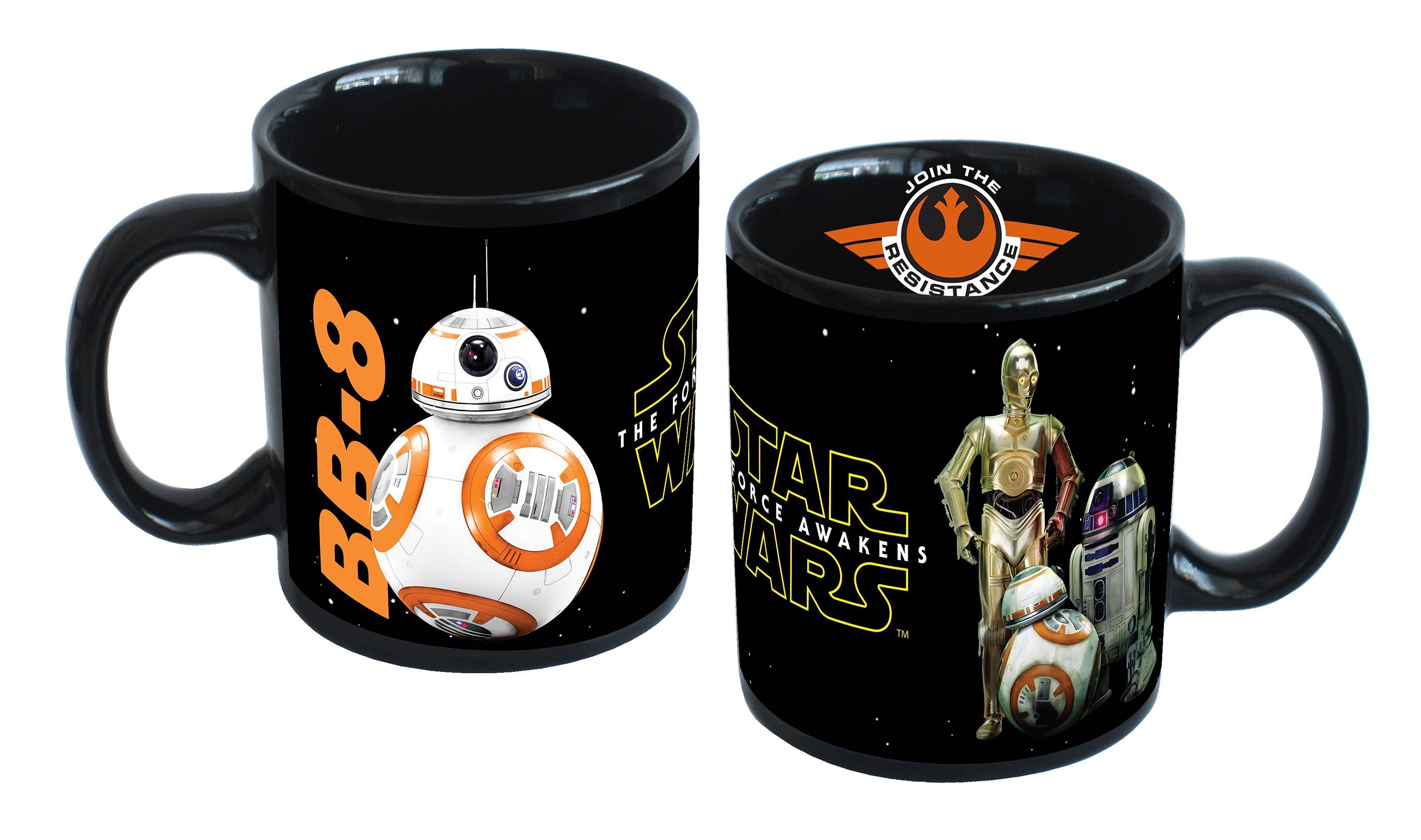 JOY TOY Tasse, 320 ml, »Disney Star Wars™ Droiden Keramiktasse«