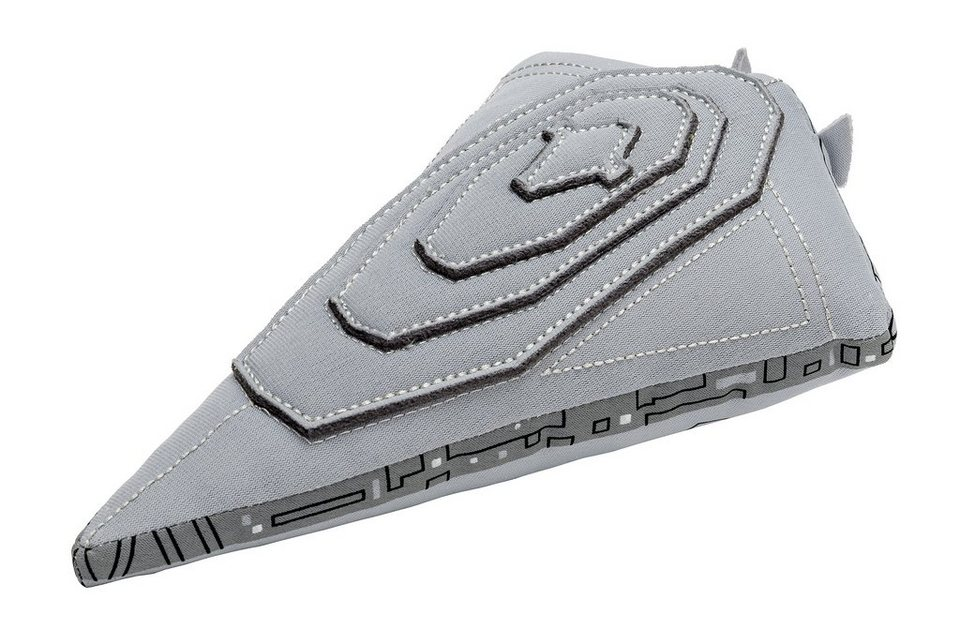 JOY TOY Plüschfigur, »Disney Star Wars Star Destroyer Finalizer Plüsch« in grau