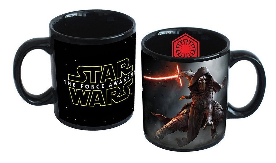 JOY TOY Tasse, 320 ml, »Disney Star Wars™ Kylo Ren Keramiktasse«