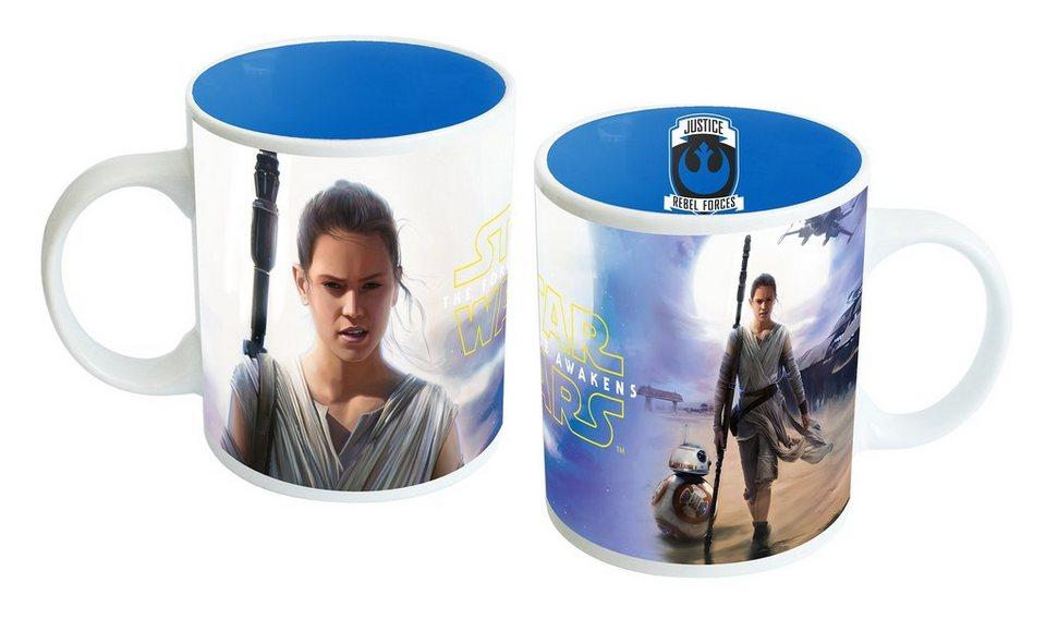 JOY TOY Tasse, 320 ml, »Disney Star Wars™ Rey Keramiktasse«
