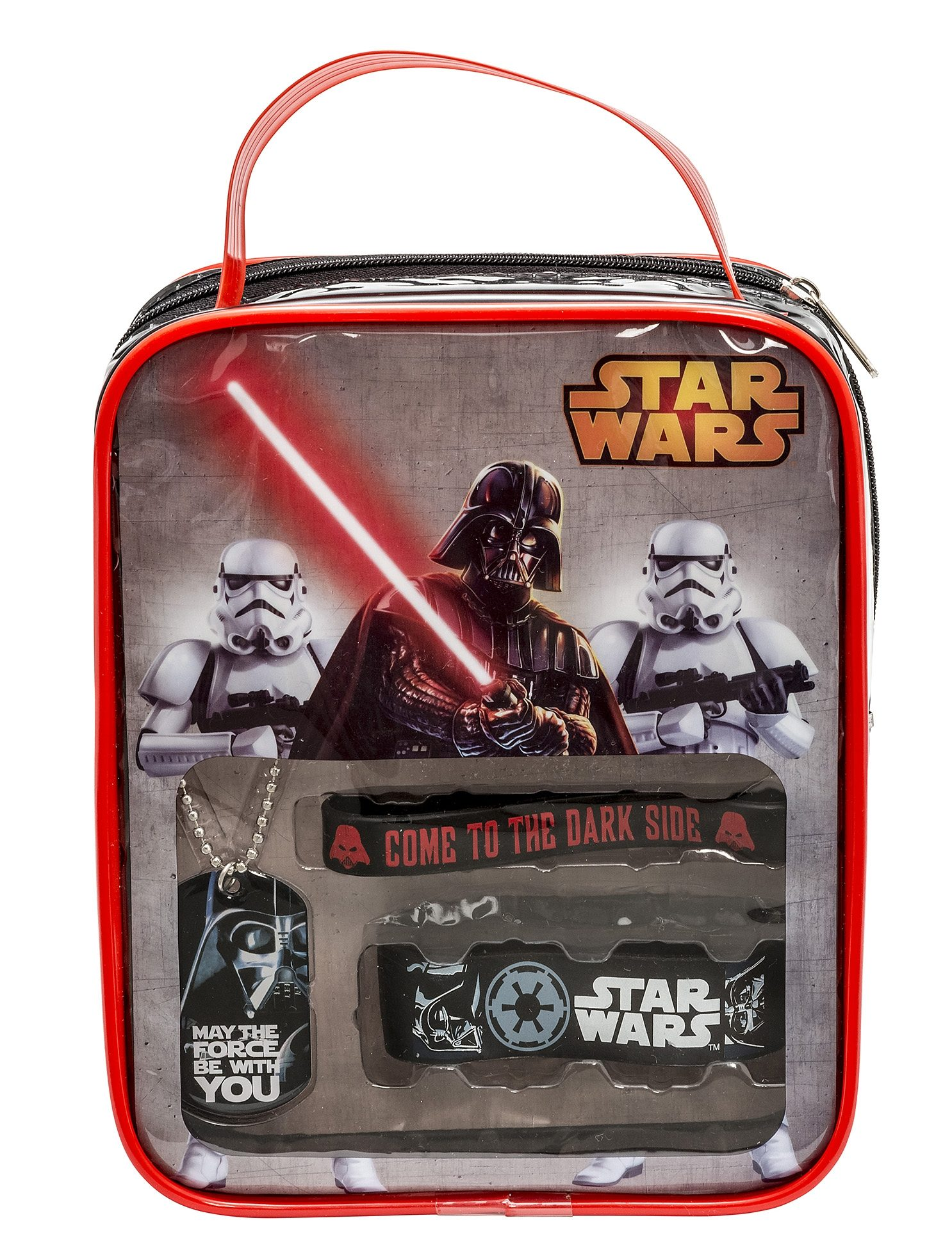 JOY TOY Set: Vinyl-Armbänder und Kette, »Star Wars™ Darth Vader Fan Set« (4tlg.)