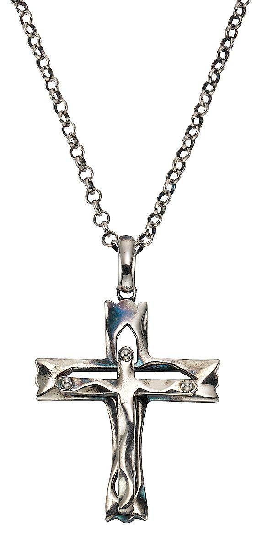 firetti Kette mit Anhänger , »Kreuz«