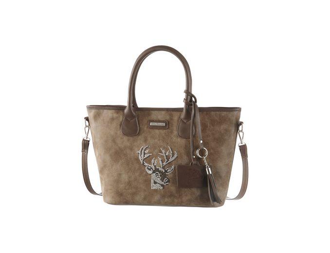 Lady Edelweiss Trachtentasche mit Hirschmotiv