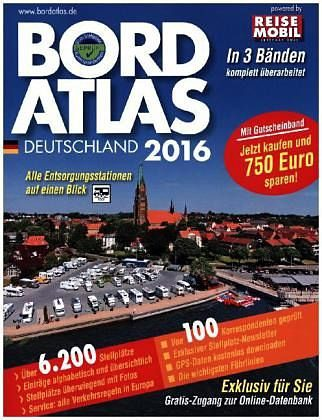 Broschiertes Buch »Reisemobil International, Bordatlas 2016, 3 Bde.«