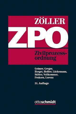 Buch mit Leinen-Einband »Zivilprozessordnung«