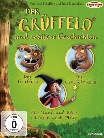 DVD »Der Grüffelo und weitere Geschichten (3 Discs)«
