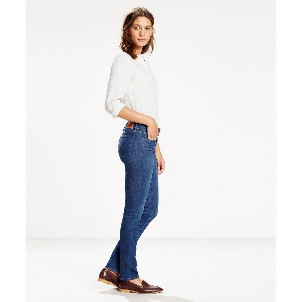 Levi's® Jeans »712 Slim« in Bay Laurel