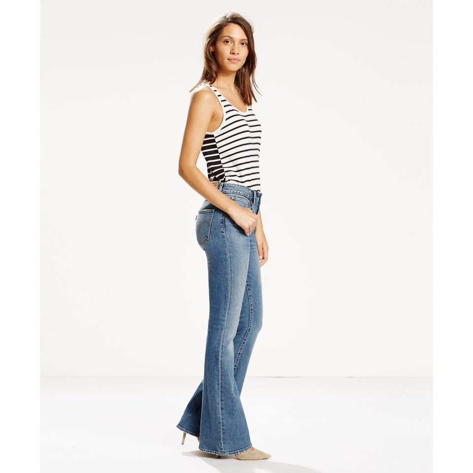Levi's® Jeans »High Rise Flare« in Star Gaze - No Destr