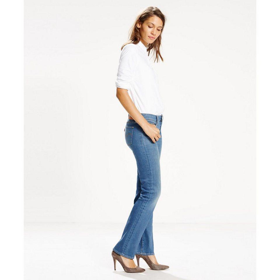 Levi's® Jeans »712 Slim« in Antique Indigo