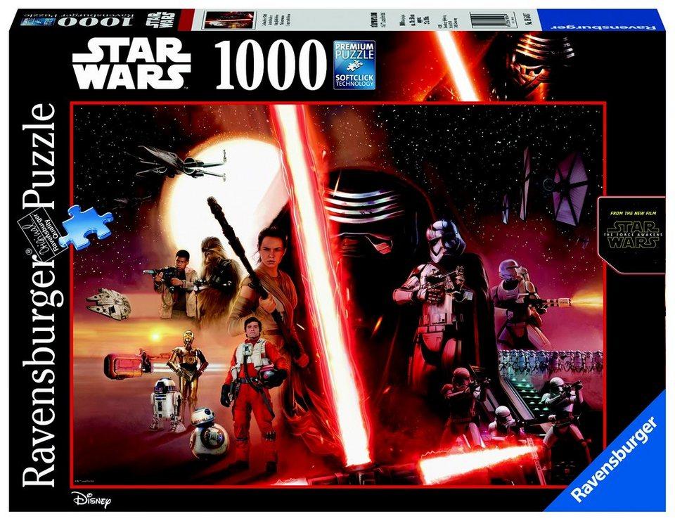 Ravensburger Puzzle 1000 Teile, »Disney´s Star Wars - Das Erwachen der Macht«